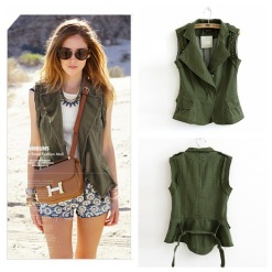 2015-woman-motorcycle-denim-waistcoat-army-green-zipper-cotton-sleeveless-military-font-b-jeans-b-font