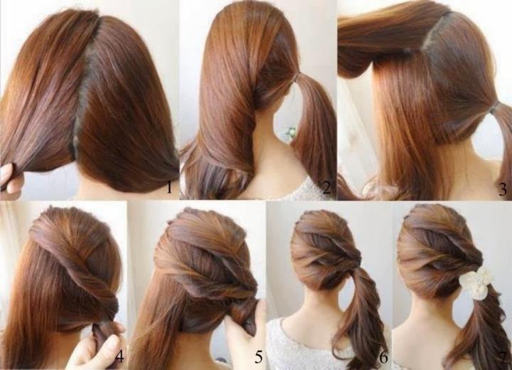 Penteados cabelos lisos