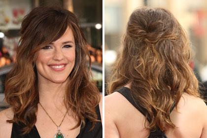Penteados cabelos ondulados